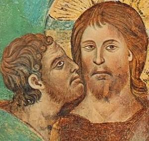Ícone - Judas beija Jesus